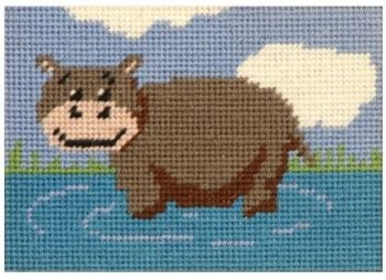 Henrietta Hippo Beginners Tapestry