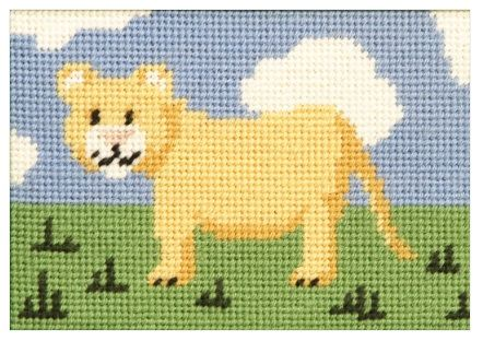 Larry Lion Beginners Tapestry
