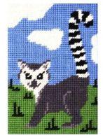 Laura Lemur Beginners Tapestry