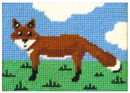 Felix Fox Beginners Tapestry