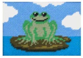 Freddie Frog Beginners Tapestry