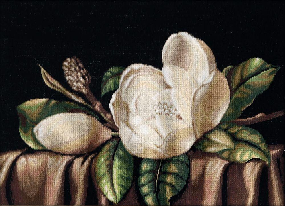 Magnolia - Petit Point Kit - Luca-S