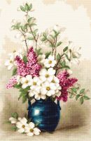 Lilac and Jasmine - Petit Point Kit