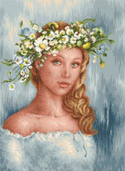 Tender Charm - Petit Point Kit - Luca-S