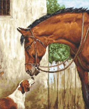 Hunter & Foxhound - Petit Point Kit - Luca-S