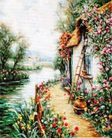 Along the River - Petit Point Kit - Luca-S