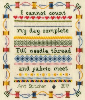 Stitching Sampler  - Bothy Threads