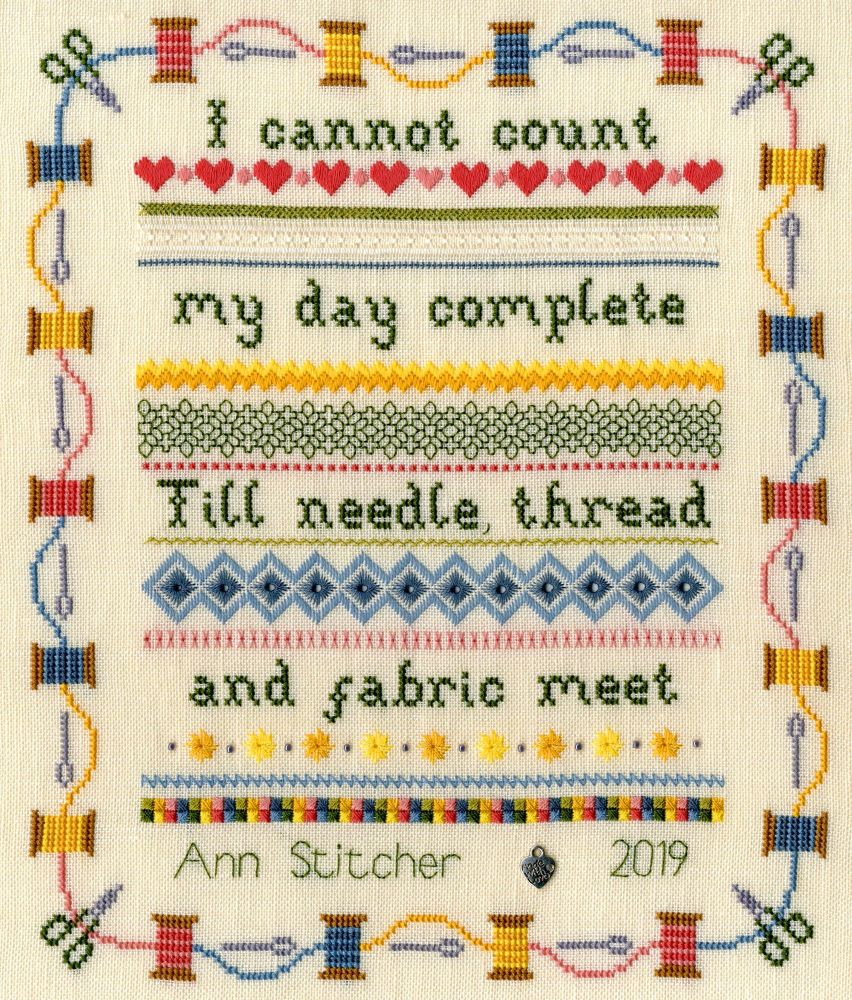Stitching Sampler  - Bothy Threads