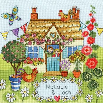 Our House Cross Stitch Sampler