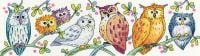 Owls on Parade Cross Stitch - Heritage Crafts