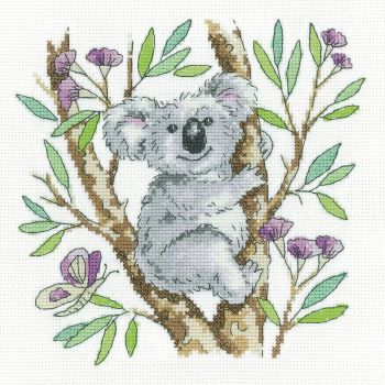 Koala Bear Cross Stitch - Heritage Crafts
