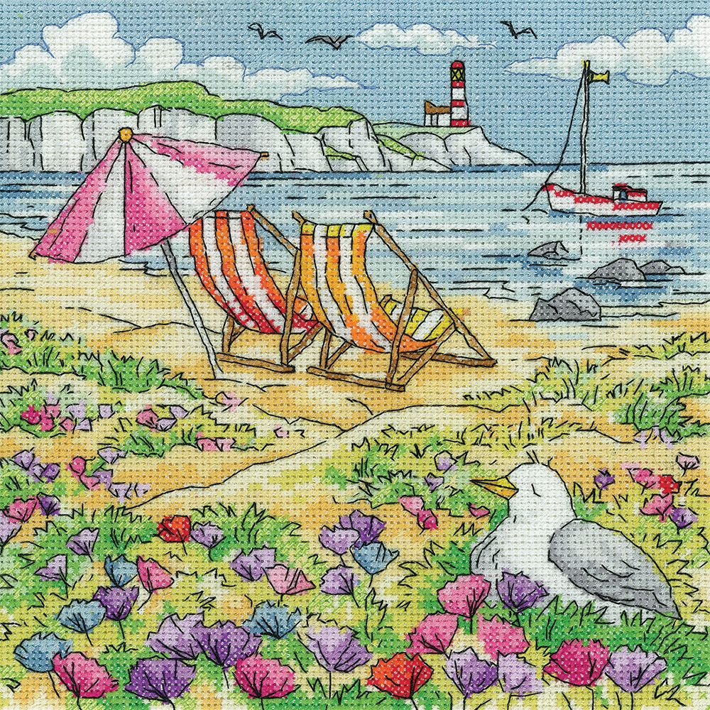 Summer Shore - Heritage Crafts Cross Stitch