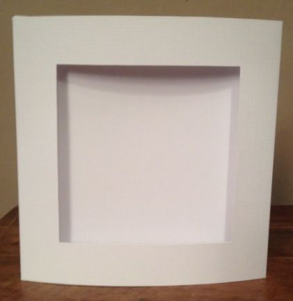 Square Aperture Card & Envelope - (Design Size: 96 x 96mm - Card Size: 144