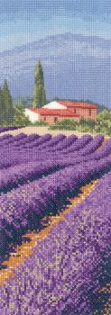 Lavender Fields - Provence - John Clayton Cross Stitch
