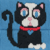 Long Stitch Cat - Beginners
