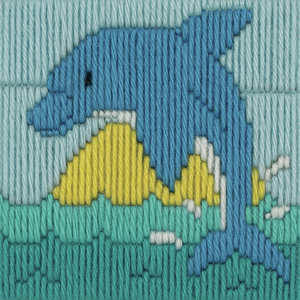 Long Stitch Dolphin - Beginners