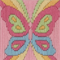 Long Stitch Butterfly - Beginners