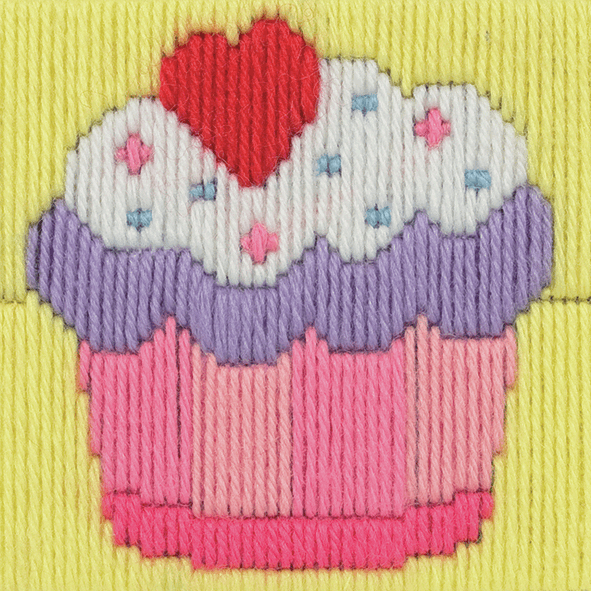 Long Stitch Cupcake - Beginners