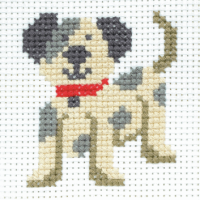 Cross Stitch Dog - Beginners