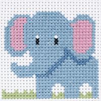 Cross Stitch Elephant - Beginners