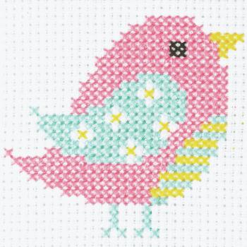 Cross Stitch Bird - Beginners