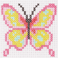 Cross Stitch Butterfly - Beginners