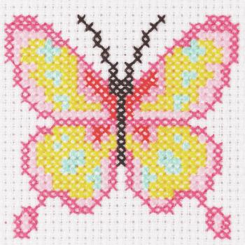 Cross Stitch Butterfly - Beginners