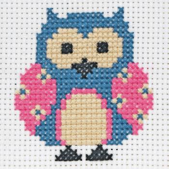 Cross Stitch Owl - Beginners
