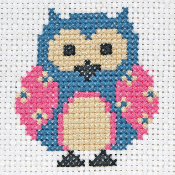 Cross Stitch Owl - Beginners