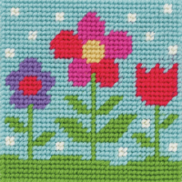 Tapestry Flowers - Beginners