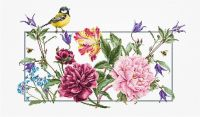 Spring Flowers Cross Stitch Kit - Luca-S
