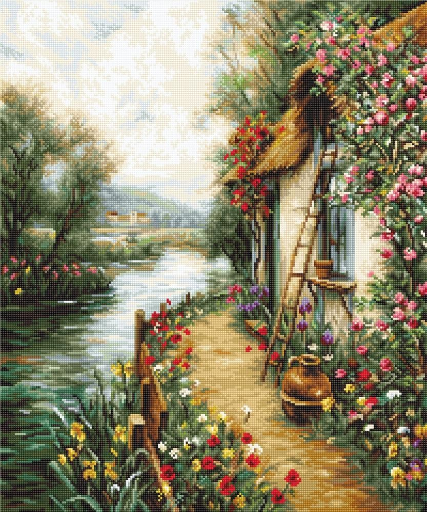 Along the River Cross Stitch - Luca-S