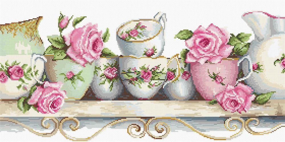 Assorted China Cross Stitch Kit - Luca-S