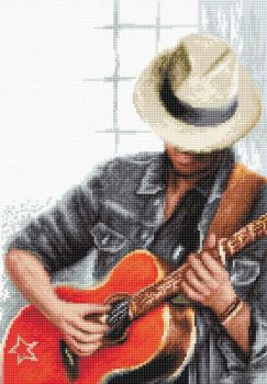 For You (Guitar) - Cross Stitch Kit by Luca-S