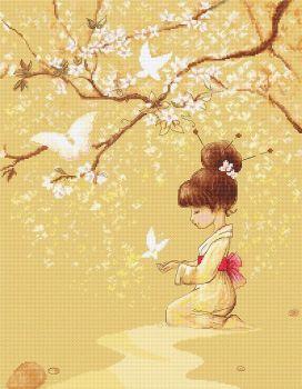 The Butterflies Cross Stitch - Luca-S