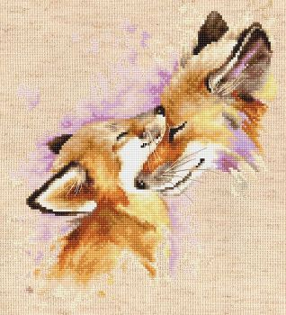 The Foxes Cross Stitch - Luca-S