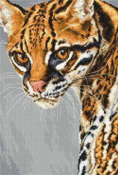 Ocelot Cross Stitch - Luca-S