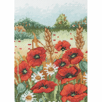 Poppy Field - Anchor Cross Stitch