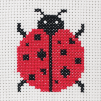 Cross Stitch Ladybird - Beginners