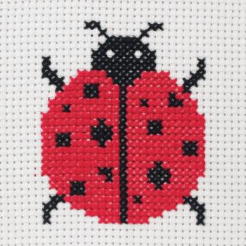 Cross Stitch Ladybird - Beginners