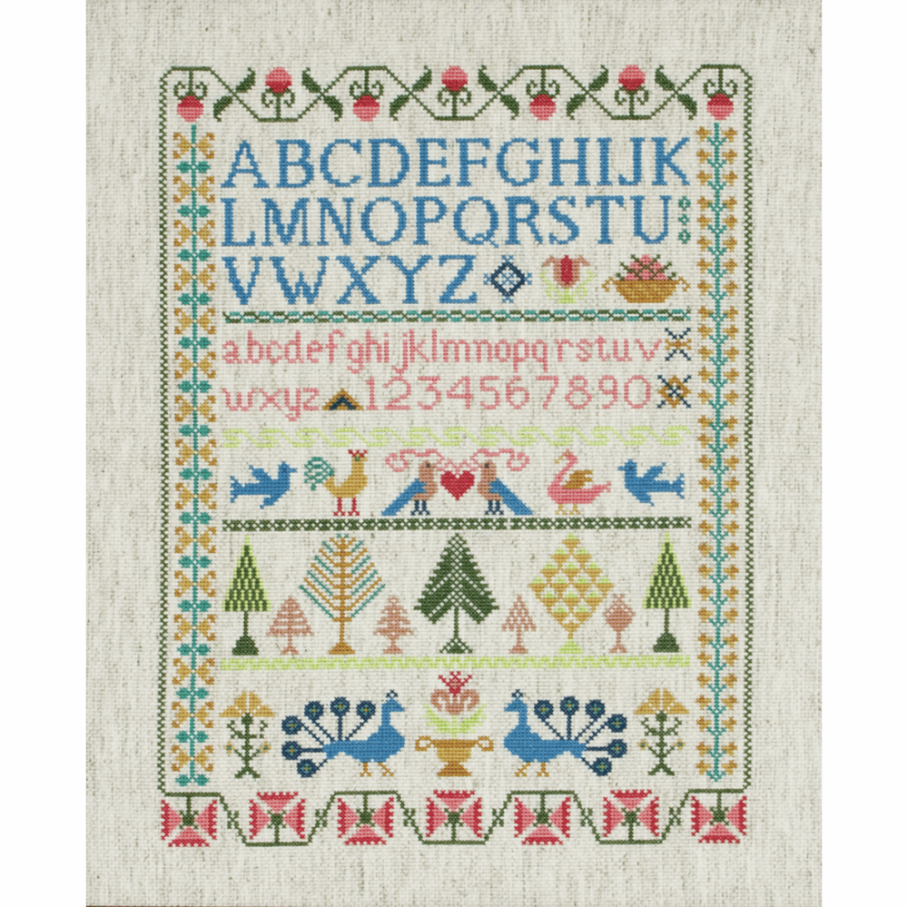 Victorian Sampler  Cross Stitch