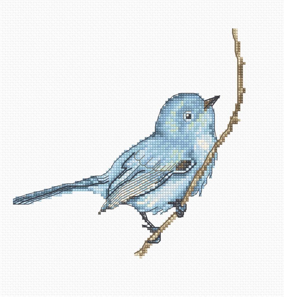 Bluebird Cross Stitch Kit - Luca-S