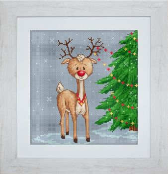 Denny Reindeer Cross Stitch Kit - Luca-S