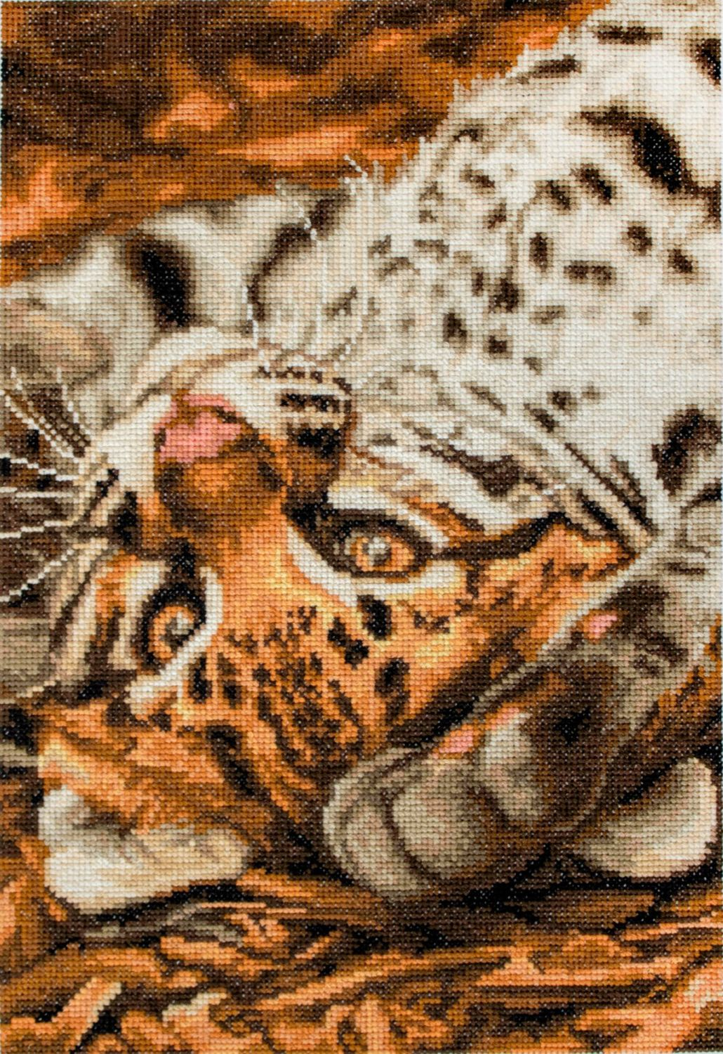 I Want to Play - Leopard Cross Stitch - Luca-S