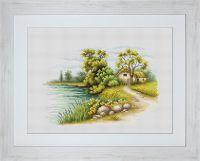 Landscape with a Lake - Luca-S Cross Stitch kit