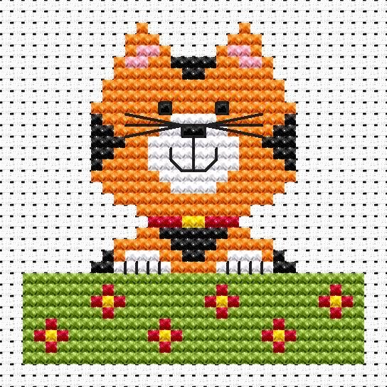 Cat Cross Stitch - Sew Simple