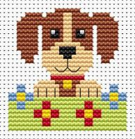 Dog Cross Stitch - Sew Simple
