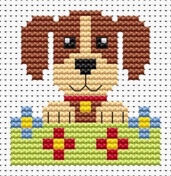 Dog Cross Stitch - Sew Simple