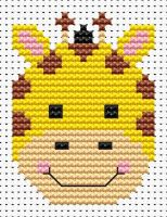 Giraffe Cross Stitch - Sew Simple