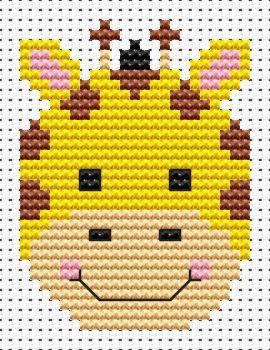 Giraffe Cross Stitch - Sew Simple